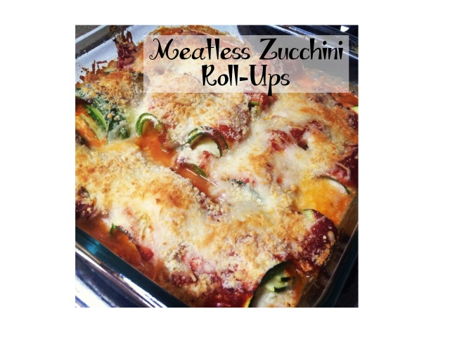 Meatless Zucchini Roll Ups